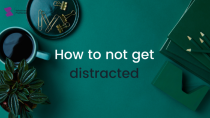 Tips to avoid distraction when studying